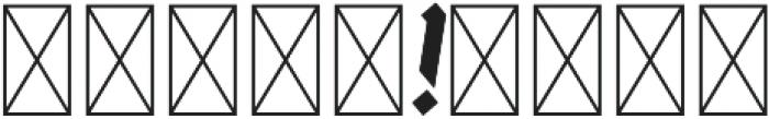 ArthurBlack MediumItalic otf (500) Font OTHER CHARS