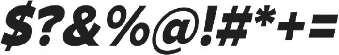 Arthura Black Italic otf (900) Font OTHER CHARS