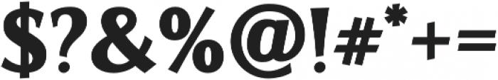 Artica Pro Black otf (900) Font OTHER CHARS