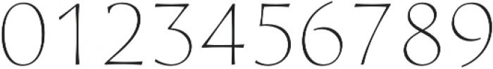 Artica Pro Light otf (300) Font OTHER CHARS
