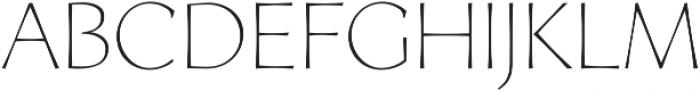 Artica Pro Light otf (300) Font LOWERCASE