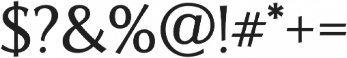 Artica Pro Medium otf (500) Font OTHER CHARS