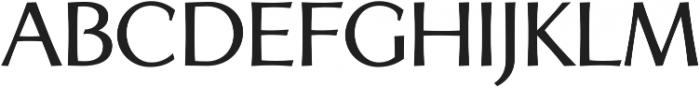 Artica Pro Medium otf (500) Font UPPERCASE