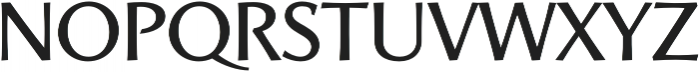 Artica Pro Medium otf (500) Font LOWERCASE