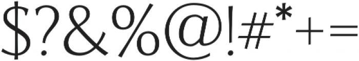Artica Pro otf (400) Font OTHER CHARS