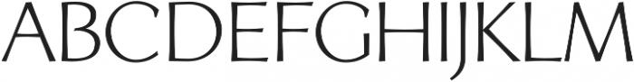 Artica Pro otf (400) Font UPPERCASE