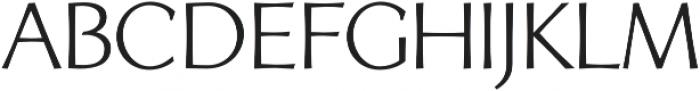 Artica Pro otf (400) Font LOWERCASE
