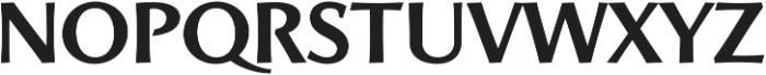 Artica Pro otf (700) Font LOWERCASE
