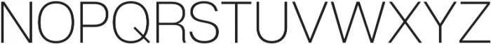 Articulat CF Bold Oblique otf (700) Font UPPERCASE