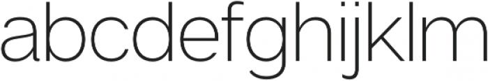 Articulat CF Bold Oblique otf (700) Font LOWERCASE