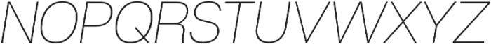 Articulat CF Extra Light otf (200) Font UPPERCASE