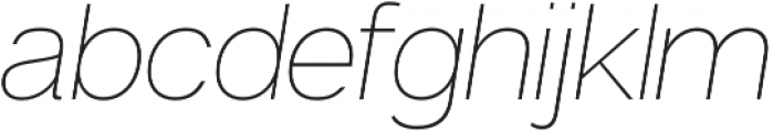 Articulat CF Extra Light otf (200) Font LOWERCASE