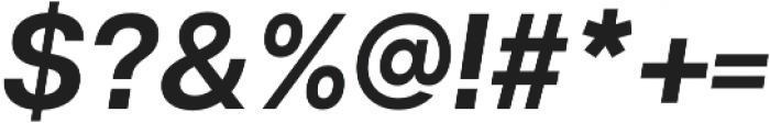 Articulat CF Medium Oblique otf (500) Font OTHER CHARS