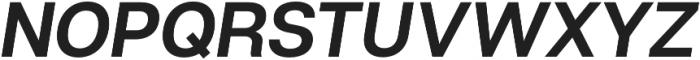 Articulat CF Medium Oblique otf (500) Font UPPERCASE