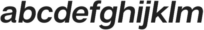 Articulat CF Medium Oblique otf (500) Font LOWERCASE