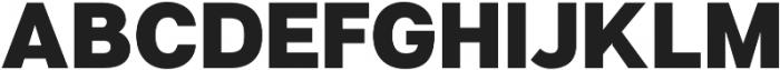 Articulat CF Medium otf (500) Font UPPERCASE