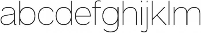 Articulat CF Text otf (400) Font LOWERCASE