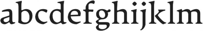 Artifex CF Book otf (400) Font LOWERCASE