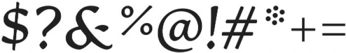 Artifex CF Demi Bold Italic otf (600) Font OTHER CHARS