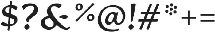 Artifex CF Extra Bold Italic otf (700) Font OTHER CHARS