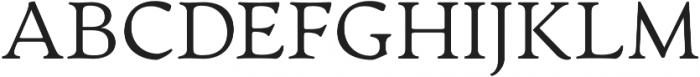 Artifex CF Extra Light otf (200) Font UPPERCASE