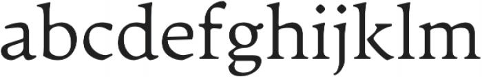 Artifex CF Extra Light otf (200) Font LOWERCASE