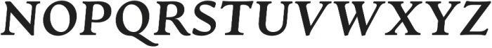 Artifex CF Heavy Italic otf (800) Font UPPERCASE
