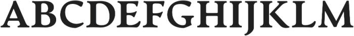 Artifex CF Heavy otf (800) Font UPPERCASE