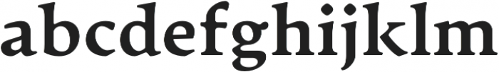 Artifex CF Heavy otf (800) Font LOWERCASE