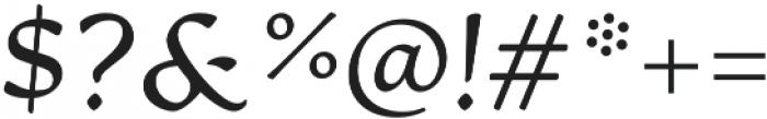 Artifex CF Light Italic otf (300) Font OTHER CHARS