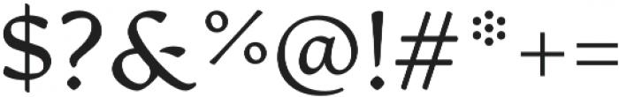 Artifex CF Light otf (300) Font OTHER CHARS