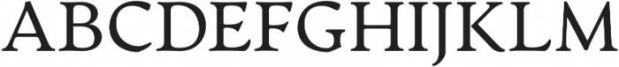 Artifex CF otf (400) Font UPPERCASE