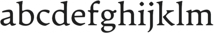 Artifex CF otf (400) Font LOWERCASE