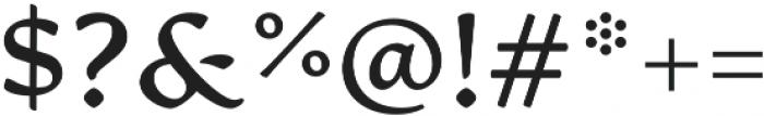 Artifex CF otf (700) Font OTHER CHARS