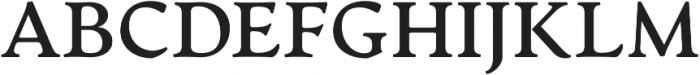 Artifex CF otf (700) Font UPPERCASE