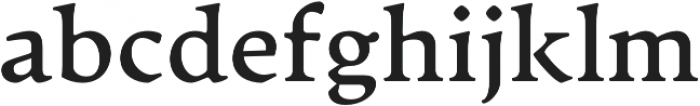 Artifex CF otf (700) Font LOWERCASE