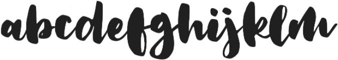 Artisan otf (400) Font LOWERCASE