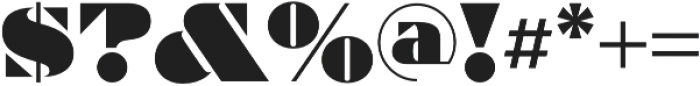 Artisinal otf (400) Font OTHER CHARS