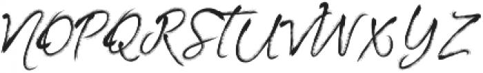Artist Brush Script ttf (400) Font UPPERCASE