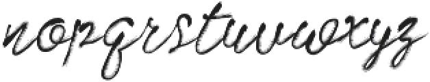 Artist Brush Script ttf (400) Font LOWERCASE