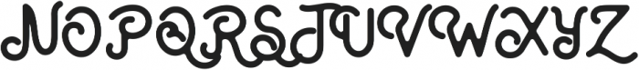 Artland Clean otf (400) Font UPPERCASE
