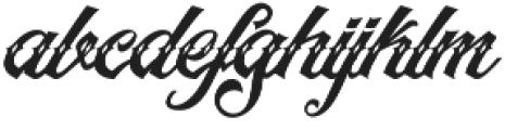 Artonic Dot Regular otf (400) Font LOWERCASE
