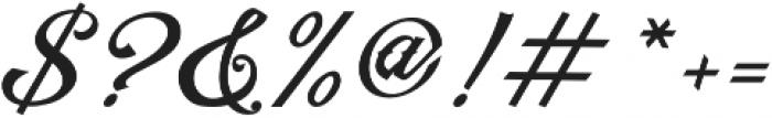 Artonic Regular Regular otf (400) Font OTHER CHARS