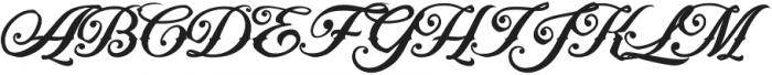 Artonic Regular Regular otf (400) Font UPPERCASE