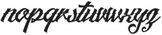 Artonic Regular Regular otf (400) Font LOWERCASE