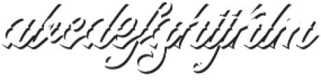 Artonic Shadow Regular otf (400) Font LOWERCASE
