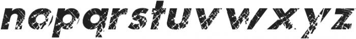 Artstain Italic otf (400) Font LOWERCASE