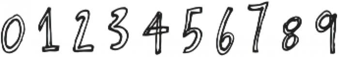 Artsy & Raw 2 otf (400) Font OTHER CHARS
