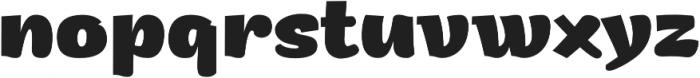 Arturo ExtraBold otf (700) Font LOWERCASE