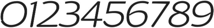 Arturo ExtraLight Italic otf (200) Font OTHER CHARS